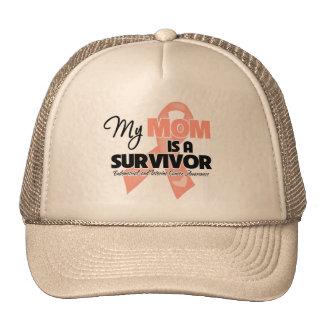My Mom is a Survivor - Uterine Cancer Mesh Hat