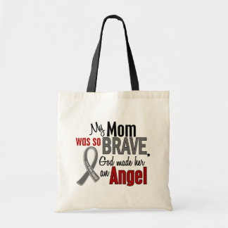 My Mom Is An Angel 1 Brain Cancer Tote Bag
