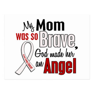 My Mom Is An Angel Lung Cancer Postcard