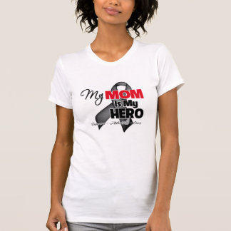 My Mom is My Hero - Skin Cancer T-shirt