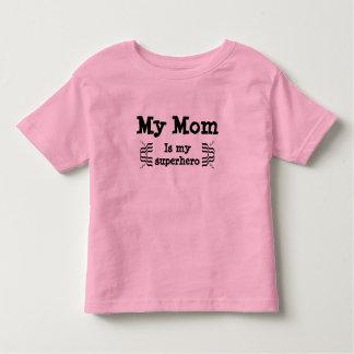 My mom is my superhero toddler T-Shirt