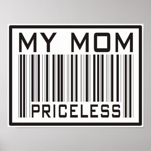 My Mom Priceless Print