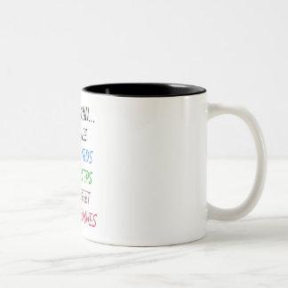 My Mom Ran 13.1 Miles Mugs