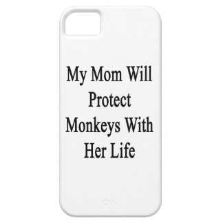 My Mom Will Protect Monkeys With Her Life iPhone 5 Cover