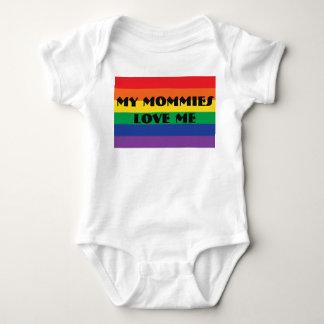 My Mommies Love Me Baby Bodysuit