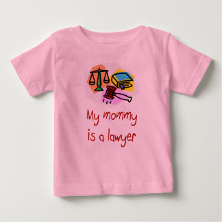 My Mommy is a Lawyer Infant T-shirt