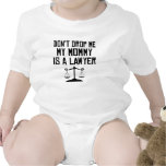 My Mommy Is A Lawyer Rompers
