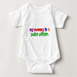 My Mommy Is A Police Officer 1 (Primary) Baby Bodysuit