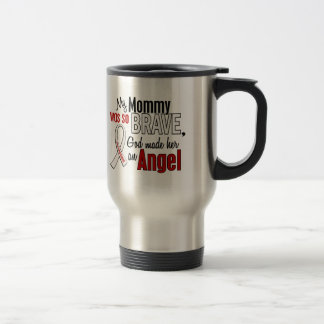 My Mommy Is An Angel Lung Cancer Mugs