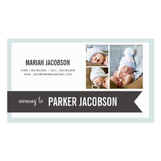MY MOMMY   PARENT CALLING CARD BUSINESS CARD