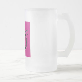My Mom's 40 Frosted Glass Mug