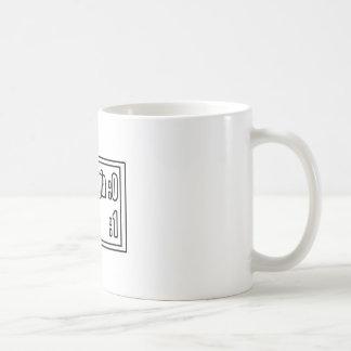 My Mom's Beating Fibromyalgia (Scoreboard) Basic White Mug