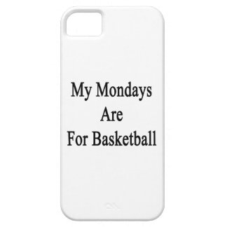 My Mondays Are For Basketball iPhone 5/5S Cover