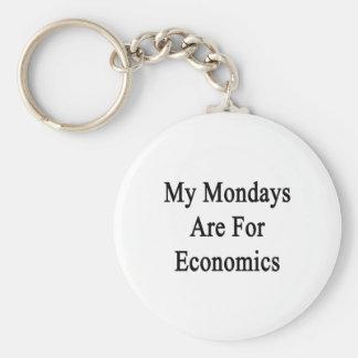 My Mondays Are For Economics Key Chains