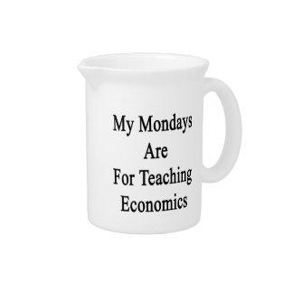 My Mondays Are For Teaching Economics Pitchers