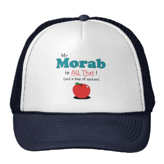 My Morab is All That! Funny Horse Cap