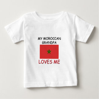 My Moroccan Grandpa Loves Me Baby T-Shirt