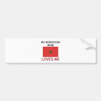 My Moroccan Mom Loves Me Bumper Sticker