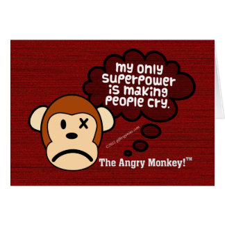 My most powerful superpower is making people cry cards