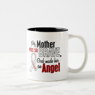 My Mother Is An Angel Lung Cancer Mug