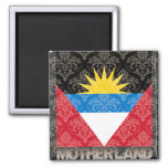 My Motherland Antigua And Barbuda Refrigerator Magnet
