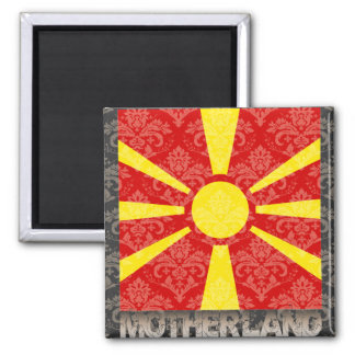 My Motherland Macedonia Magnet
