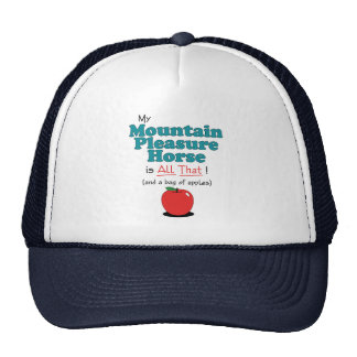 My Mountain Pleasure Horse is All That! Cap
