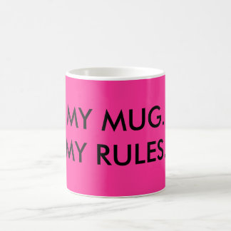 MY MUG, MY RULES mug