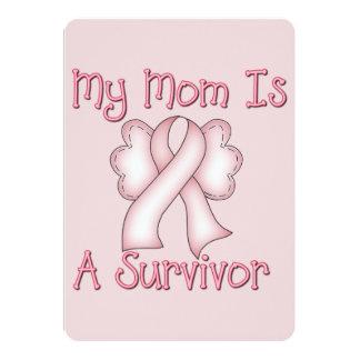 My Mum Is A Survivor 13 Cm X 18 Cm Invitation Card