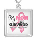 My Mum is a Survivor - Breast Cancer Personalised Necklace