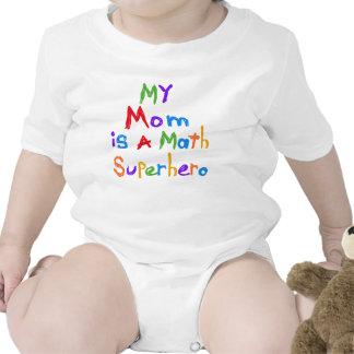 My Mum Math Superhero T-shirts and Gifts
