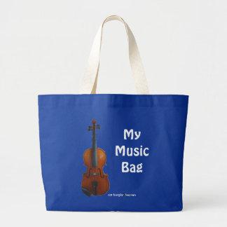 My Music Bag - Blue Customize