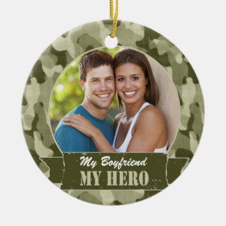 My ______ My Hero Christmas Ornament
