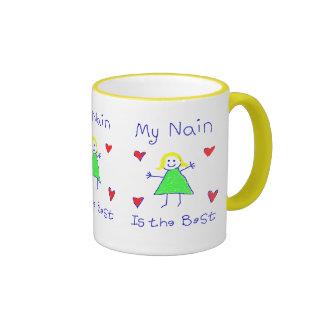 My Nain is the Best Ringer Mug