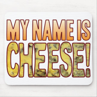 My Name Blue Cheese Mouse Mat