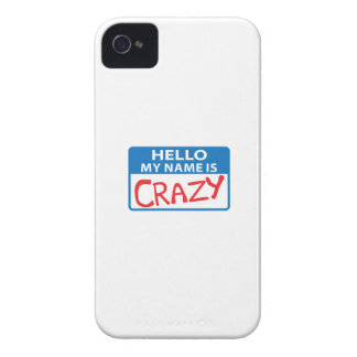 MY NAME IS CRAZY iPhone 4 COVER