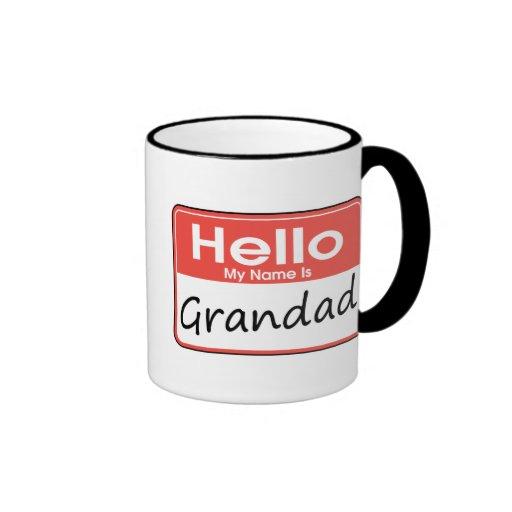 My Name is Grandad Mug