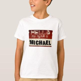 My Name is Michael Kids T-Shirt