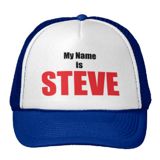 My Name is Steve Hats