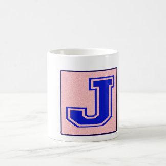 My name starts with J Basic White Mug