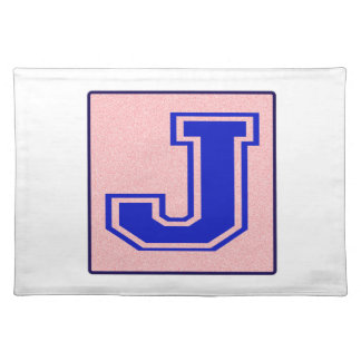 My name starts with J Cloth Placemat