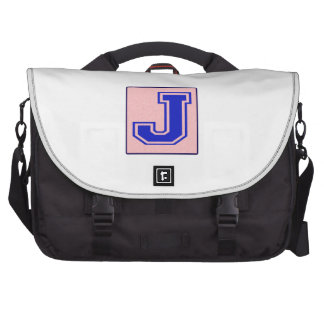 My name starts with J Computer Bag