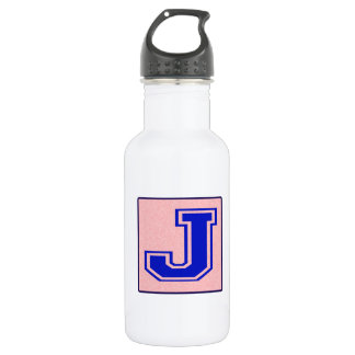 My name starts with J 18oz Water Bottle