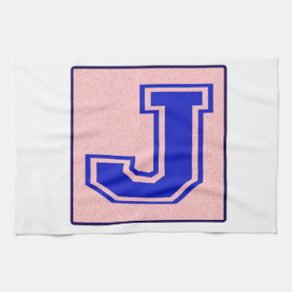 My name starts with J Kitchen Towel