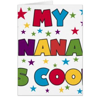 My Nana is Cool Card