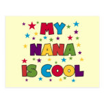 My Nana is Cool t-shirts and Gifts Post Card