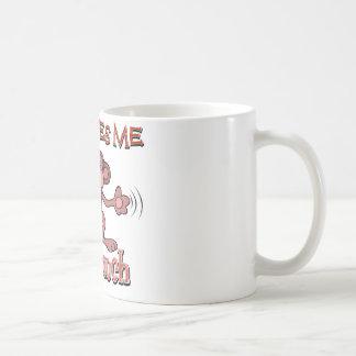 My nana loves me this much basic white mug