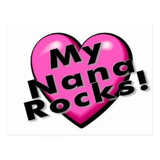 My Nana Rocks Postcard