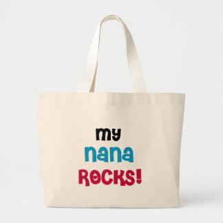 My Nana Rocks T-shirts and Gifts Canvas Bag