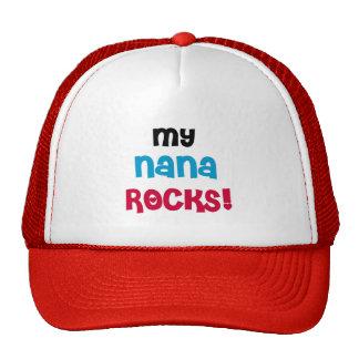 My Nana Rocks T-shirts and Gifts Cap